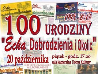 100. wydanie Echa Dobrodzieia i Okolic