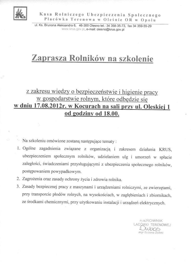 Zaproszenie na szkolenie 17.08.2012.jpeg